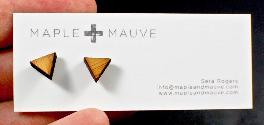 Maple + Mauve earrings
