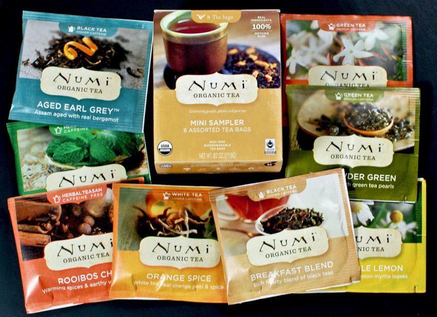 numi tea sampler