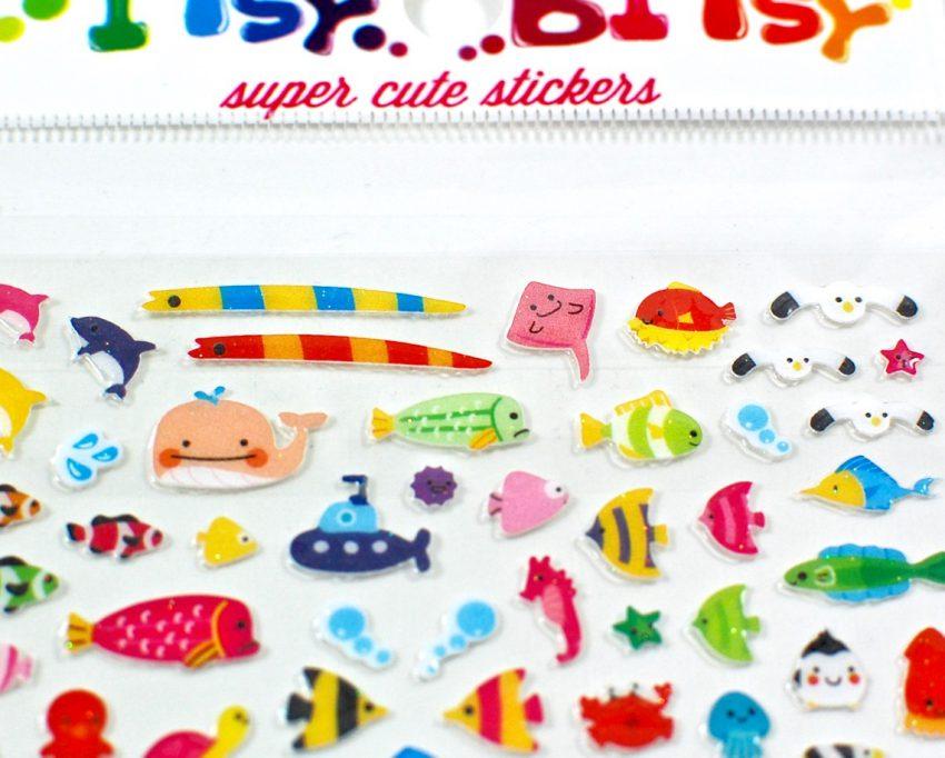sea life stickers