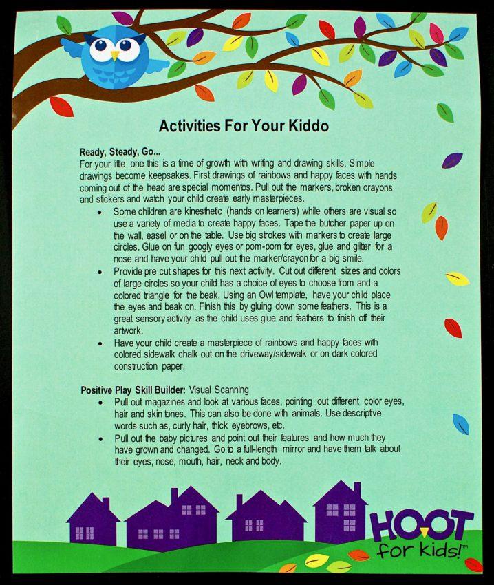 Hoot for Kids activities