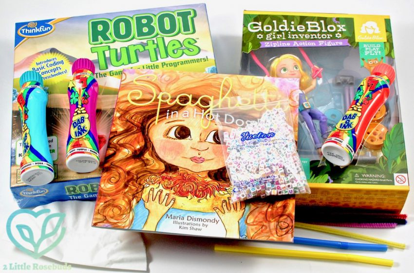 Toyfit October 2016 Children's Subscription Box Review