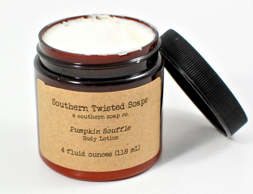 pumpkin souffle body lotion