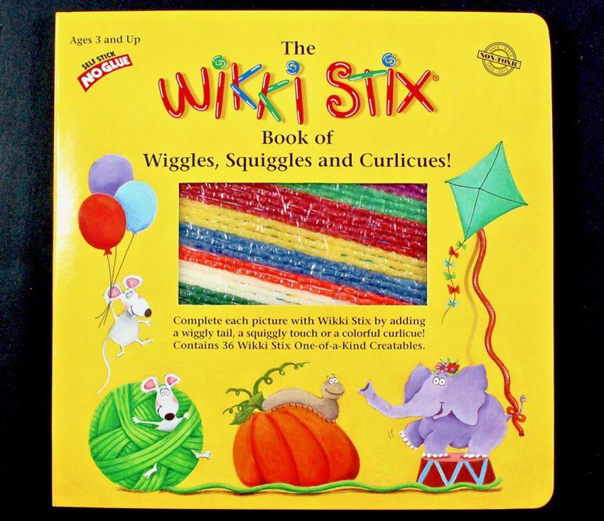 Wikki Stix book