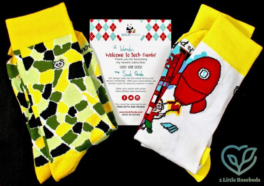 Sock Panda September 2016 Sock Subscription Box Review & Coupon Code