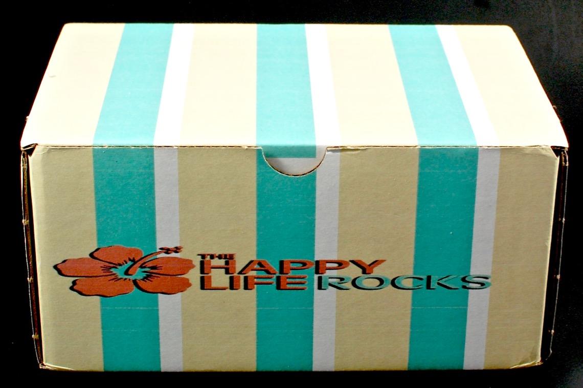 The Happy Life Rocks box
