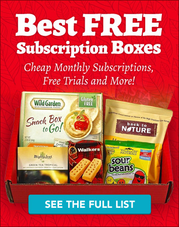 Best Free Subscription Boxes and Really Cheap Monthly Subscriptions - See the full list