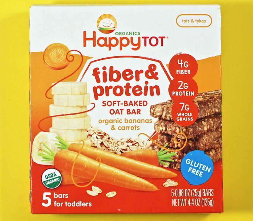 Happy Tot fiber & protein bars