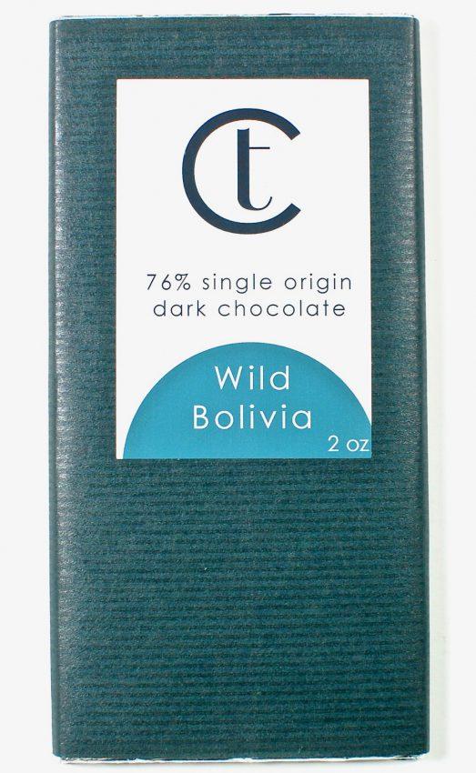 Wild Bolivia chocolate bar