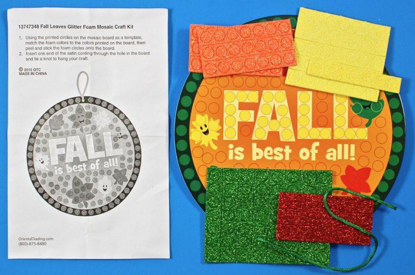 fall craft mosaic