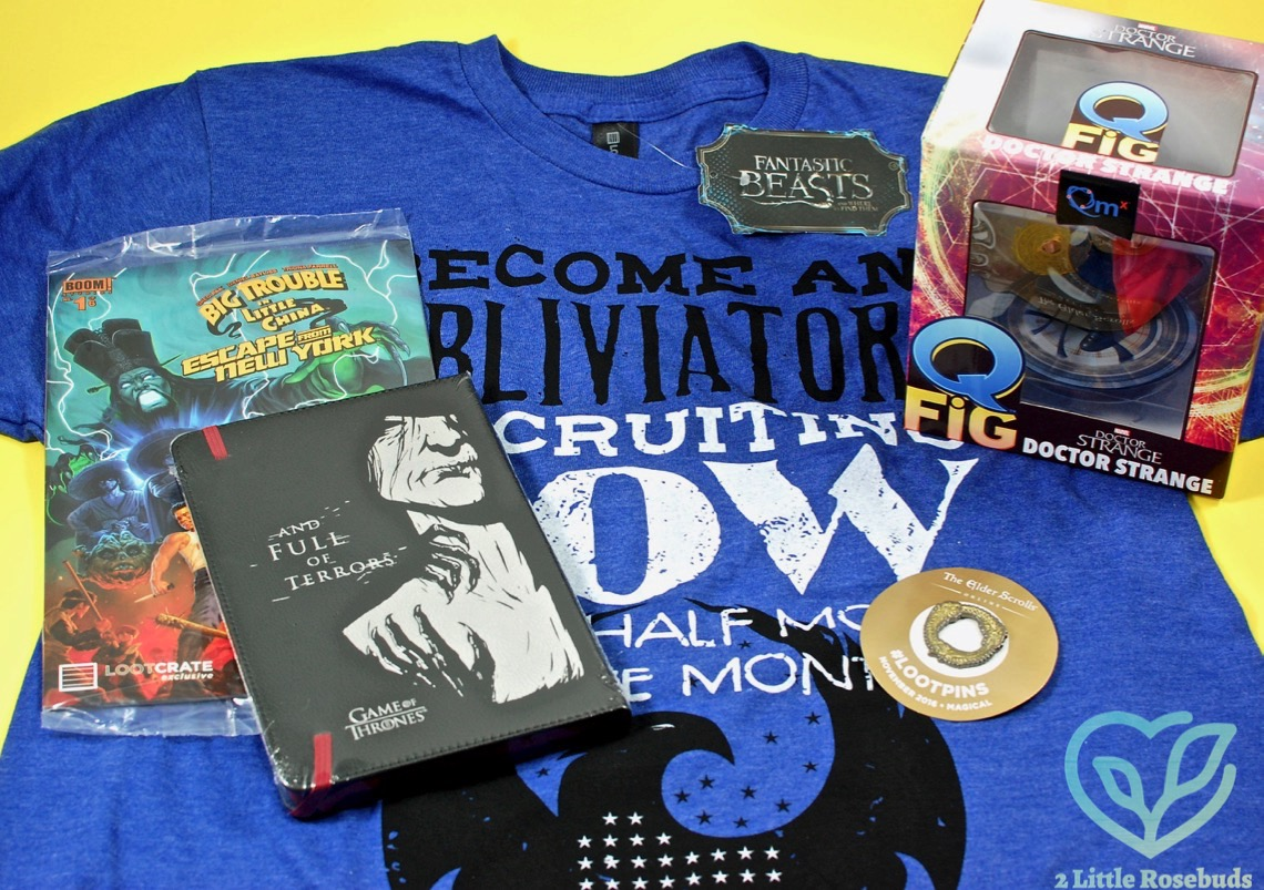 November 2016 Loot Crate review