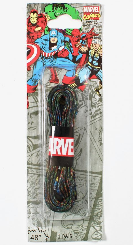 Marvel laces
