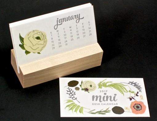 Favorite Story mini desk calendar
