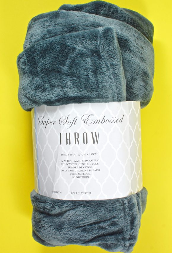 plush throw