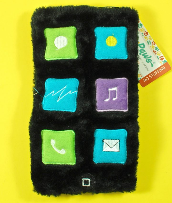 iphone dog toy