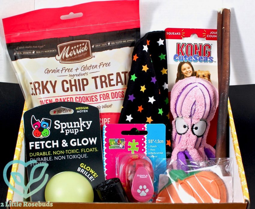 Wigglebutt Box October 2016 Dog Subscription Box Review