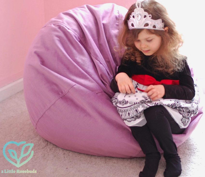 Brentwood Home Kid's Lounger Review & GIVEAWAY!