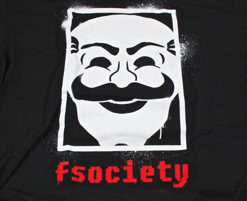 Loot Crate fsociety shirt