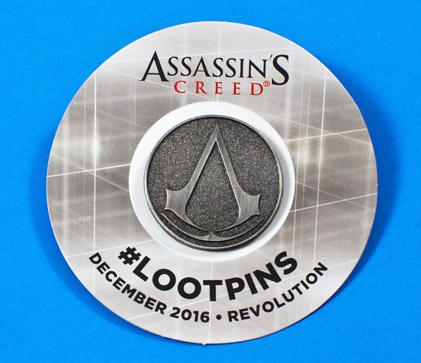Assassin's Creed Loot Crate pin