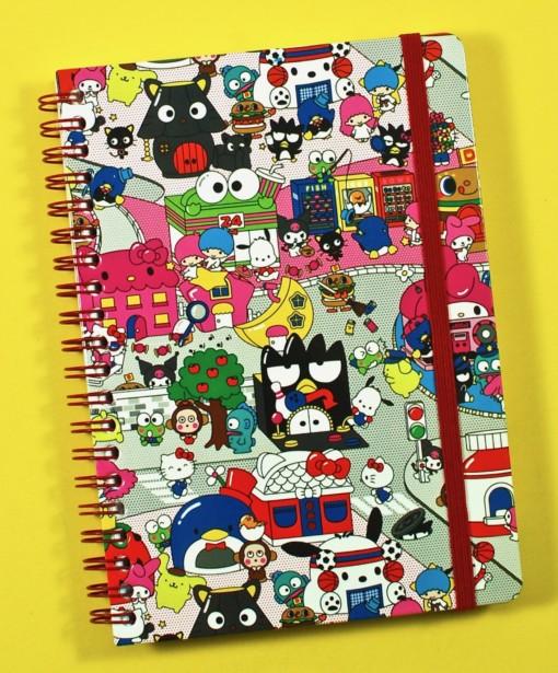 Hello Sanrio notebook