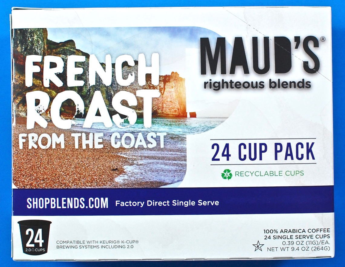 Maud's French roast coffee