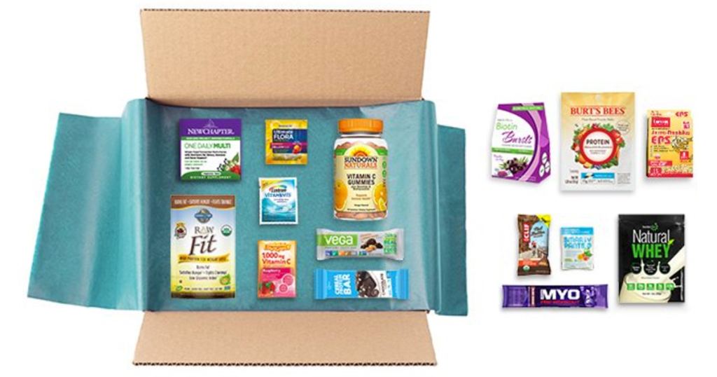 Amazon free sample box