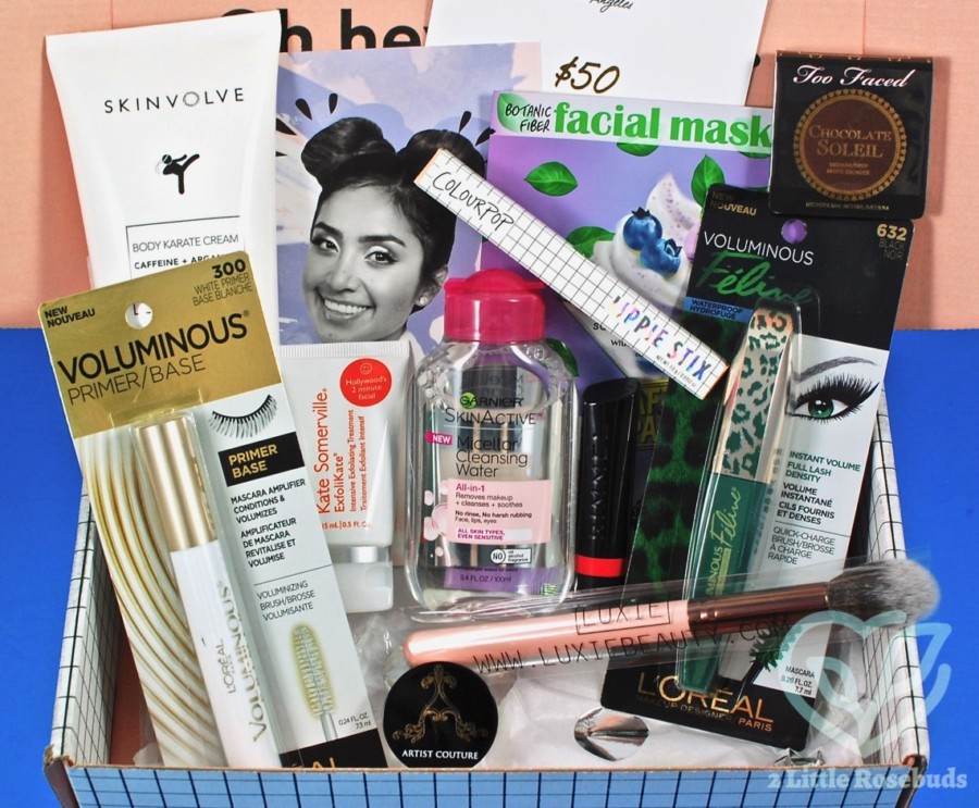 Winter 2016 Beautycon Box review