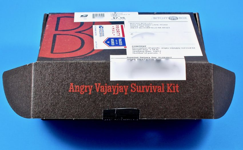 Angry Vajayjay survival kit