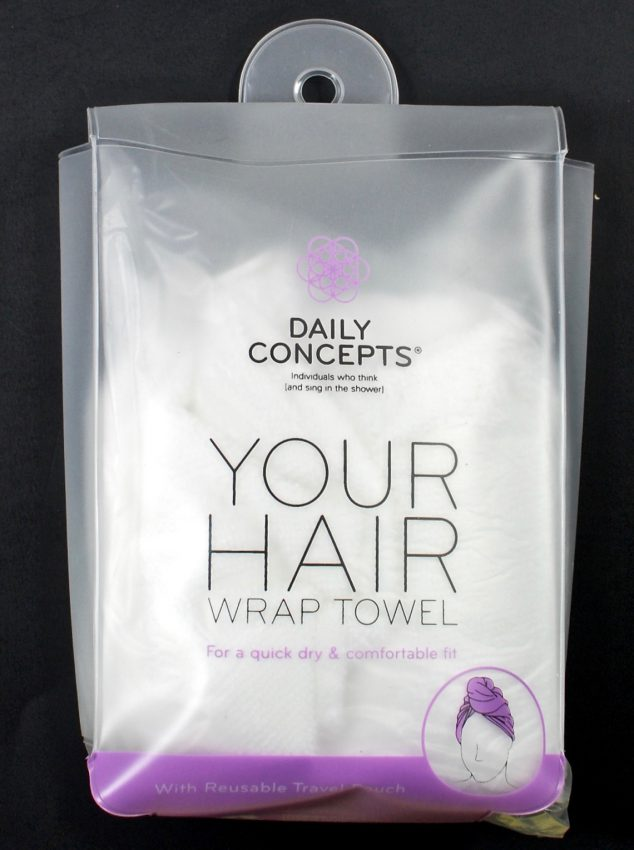 Daily Concepts hair wrap towel