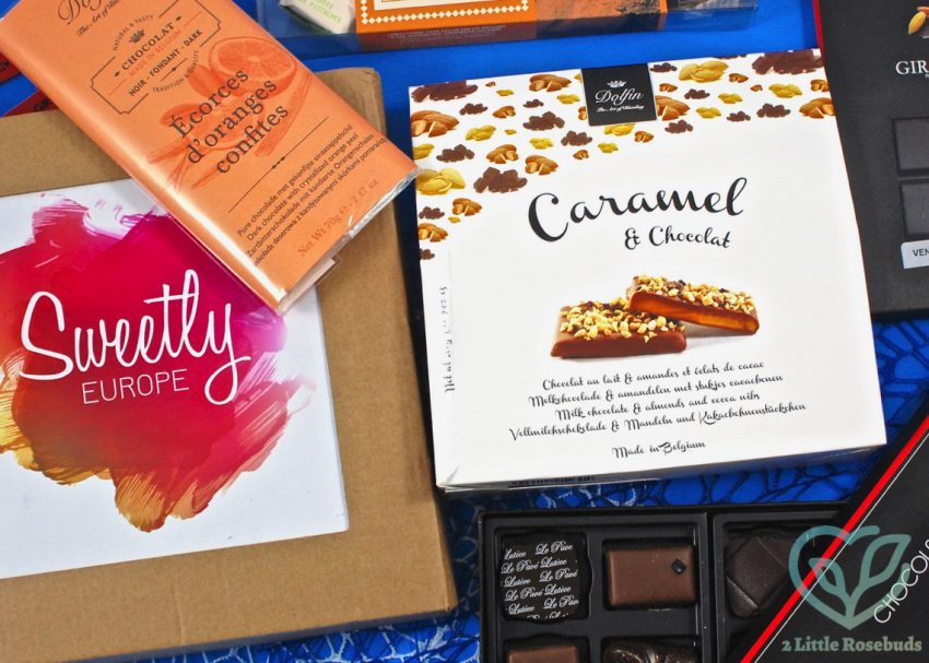 Sweetly Europe December 2016 Subscription Box Review & Coupon Code