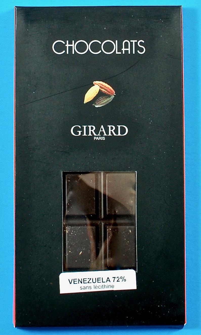 Girard dark chocolate bar