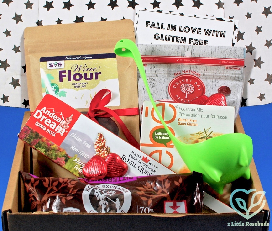 American gluten free february 2017 foodie subscription box february 2017 american gluten free review negle Images
