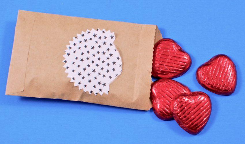 Equal Exchange chocolate hearts