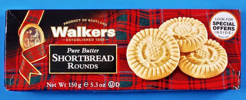 Walkers shortbread cookies