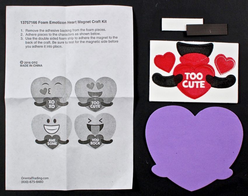 emoticon magnet craft