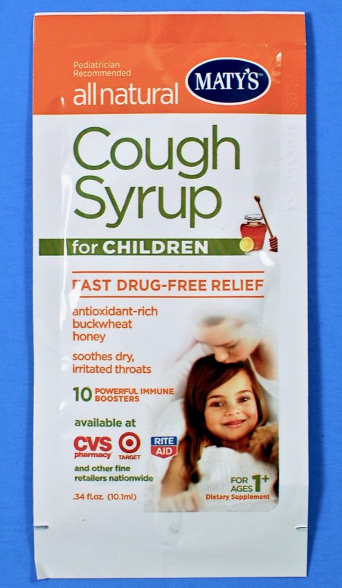 Maty's cough syrup
