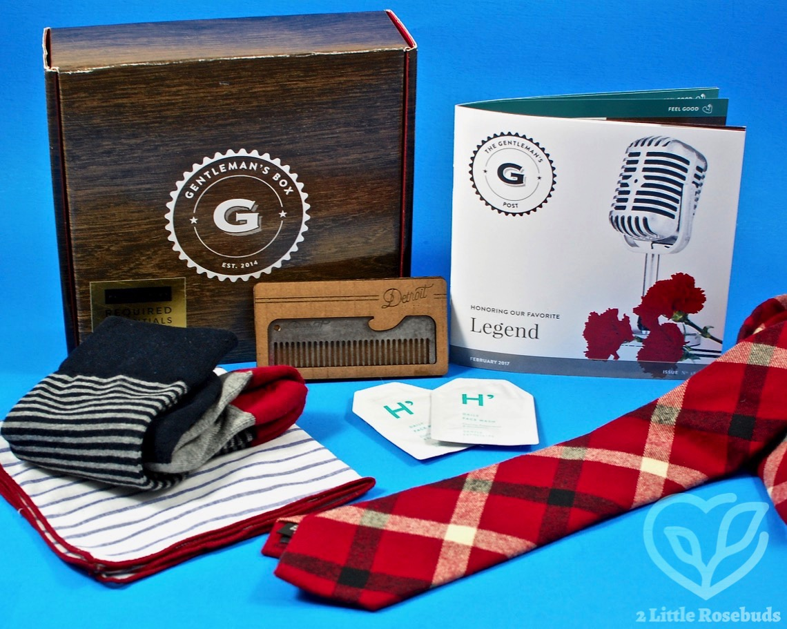 Gentleman S Box February 2017 Subscription Box Review