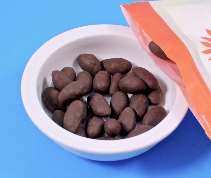 Nature box dark chocolate almonds