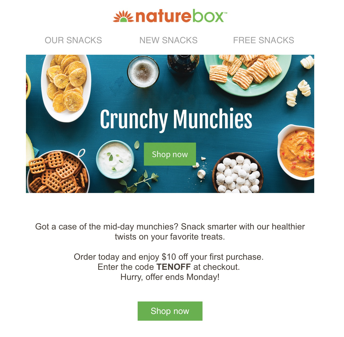 Naturebox coupon