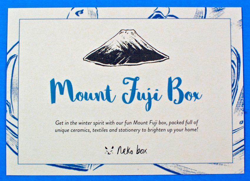 Neko Box Mt. Fuji review
