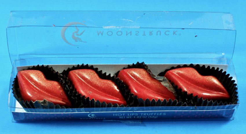 Moonstruck Hot Lips truffles