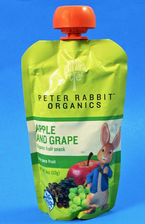 Peter Rabbit Organics pouch