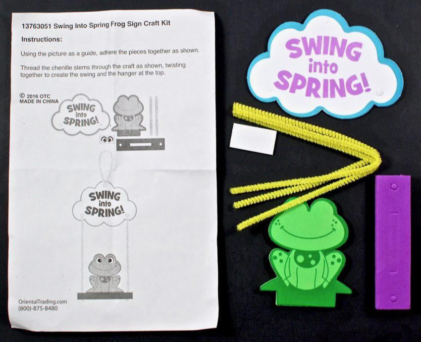 swing into spring craft