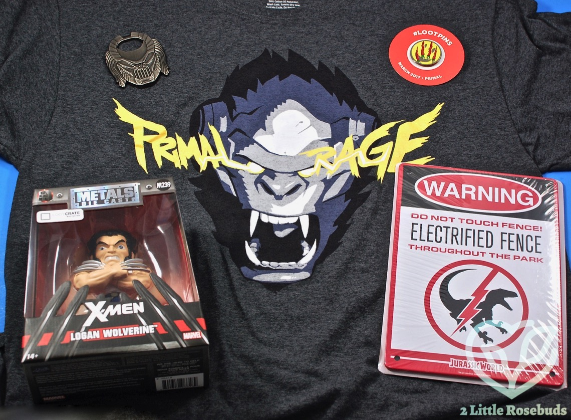 March 2017 Loot Crate review