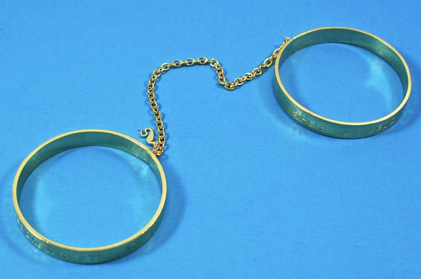 Cleo Bangle Handcuffs by Unbound