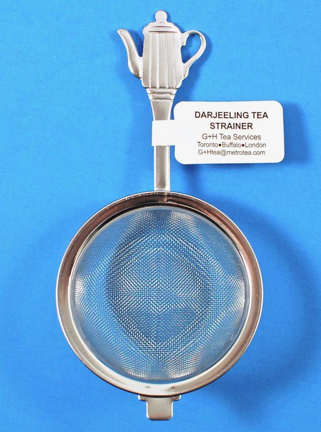 Darjeeling tea strainer