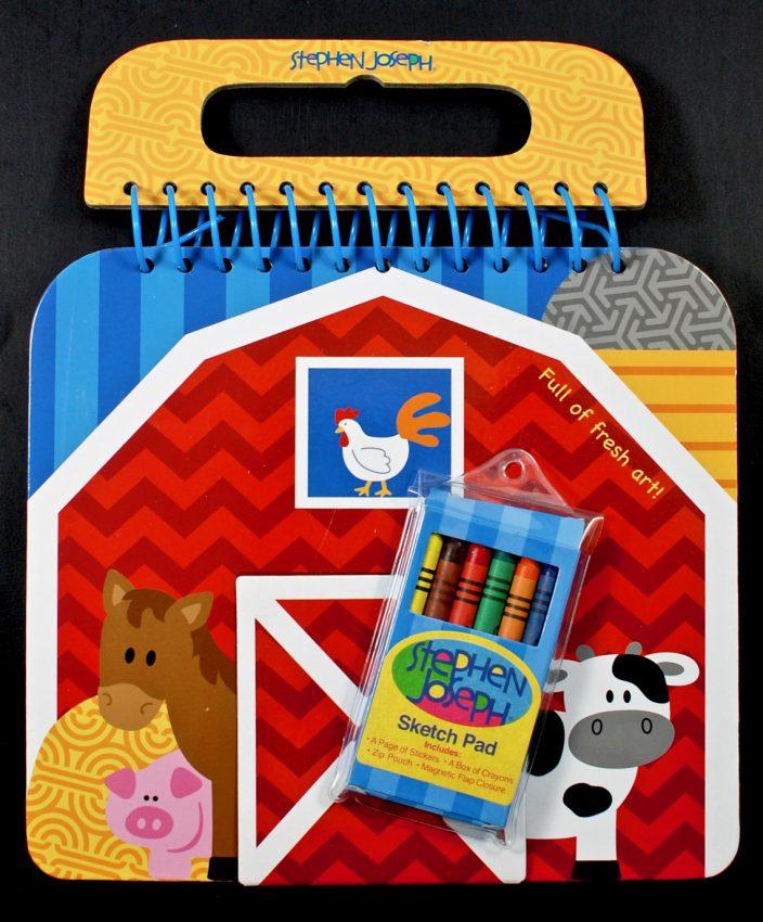 farm coloring set