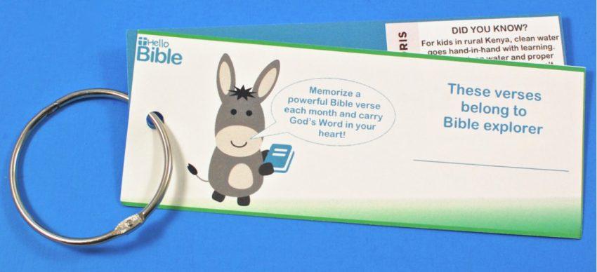 Kids Bible verses