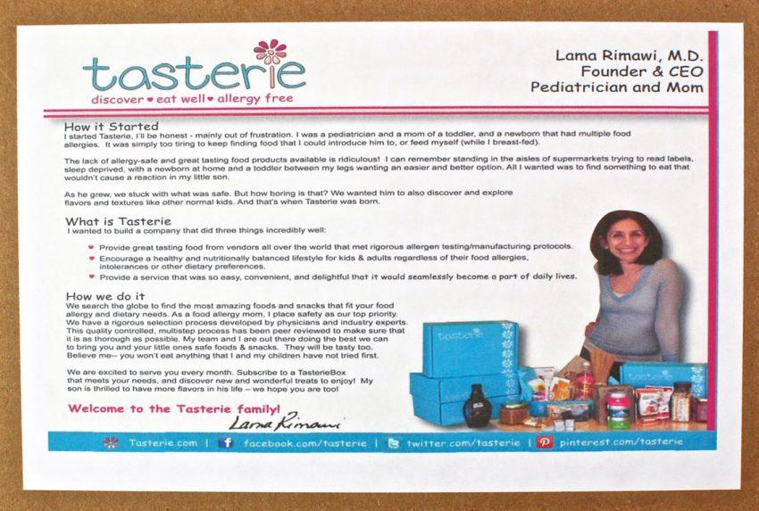 allergen free subscription box