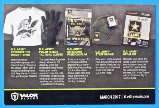 March 2017 Valor box