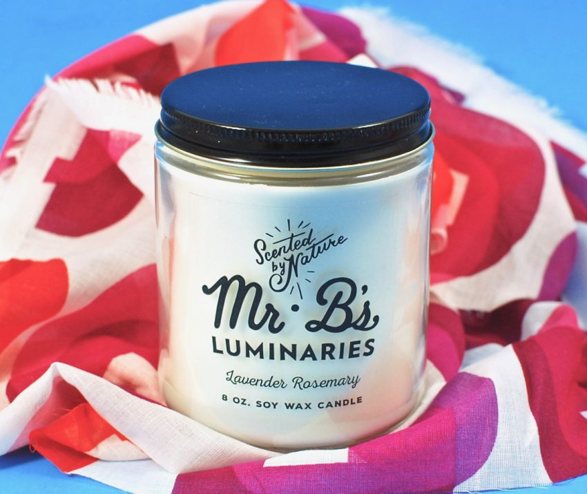 Mr. B's candle